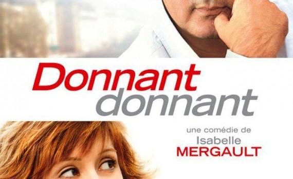 "Affiche du film ""Donnant, donnant"""