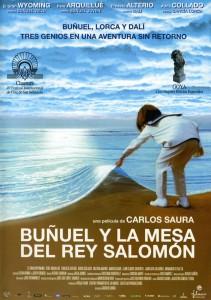 """Affiche du film """"Buñuel y la mesa del rey Salomón"""""""
