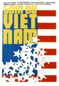 """Affiche du film """"Loin du Vietnam"""""""