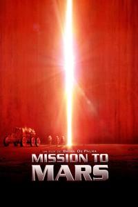 "Affiche du film ""Mission to Mars"""