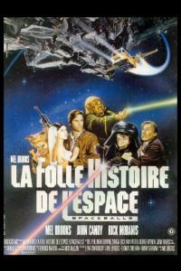 """Affiche du film """"La folle histoire de l'espace"""""""