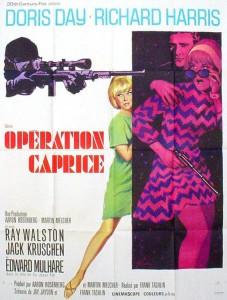 """Affiche du film """"Opération Caprice"""""""