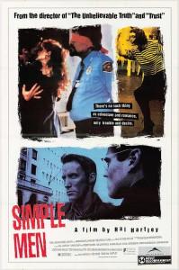 """Affiche du film """"Simple Men"""""""