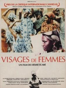 """Affiche du film """"Visages de femmes"""""""