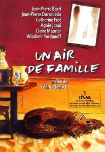 """Affiche du film """"Un air de famille"""""""