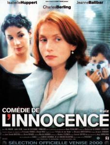 """Affiche du film """"Comédie de l'innocence"""""""