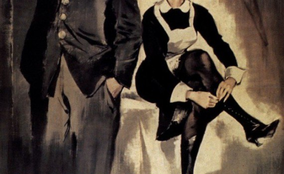 """Affiche du film """"Le journal d'une femme de chambre"""""""