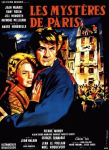 """Affiche du film """"Les mystères de Paris"""""""