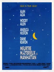 """Affiche du film """"Meurtre mystérieux à Manhattan"""""""