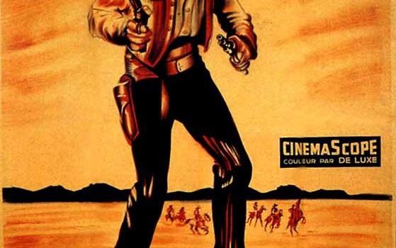 """Affiche du film """"L'homme de l'Ouest"""""""