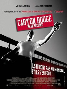 "Affiche du film ""Carton rouge - Mean Machine"""