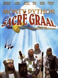 """Affiche du film """"Monty Python : Sacré Graal !"""""""