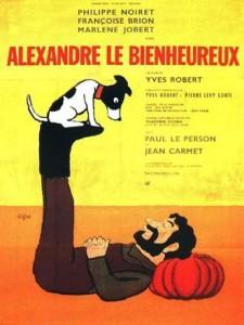 """Affiche du film """"Alexandre le bienheureux"""""""