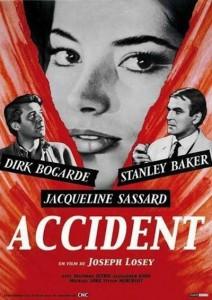 "Affiche du film ""Accident"""