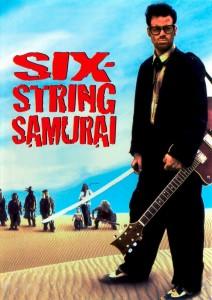 """Affiche du film """"six-string samurai"""""""