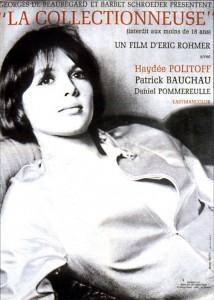 """Affiche du film """"La collectionneuse"""""""