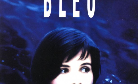 """Affiche du film """"Trois couleurs : Bleu"""""""
