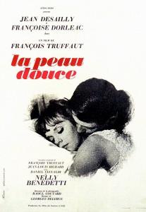 """Affiche du film """"La peau douce"""""""