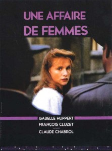 """Affiche du film """"Une affaire de femmes"""""""