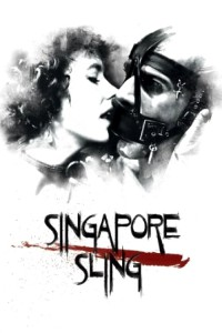 "Affiche du film ""Singapore sling"""