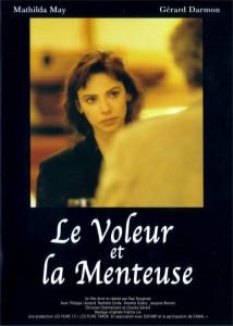 """Affiche du film """"Le voleur et la menteuse"""""""