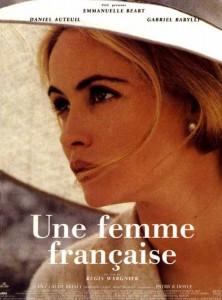 """Affiche du film """"Une femme française"""""""