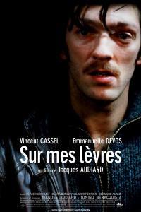 """Affiche du film """"Sur mes lèvres"""""""