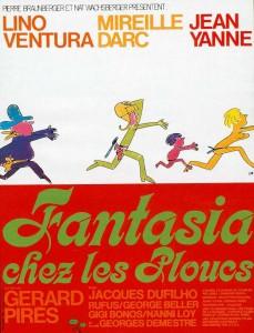 """Affiche du film """"Fantasia chez les ploucs"""""""