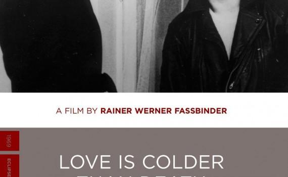 """Affiche du film """"L'Amour est plus froid que la mort"""""""