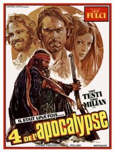 """Affiche du film """"4 de l'apocalypse"""""""