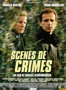 """Affiche du film """"Scènes de crimes"""""""