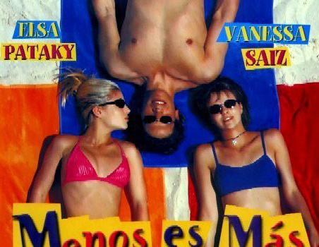 """Affiche du film """"Menos es más"""""""