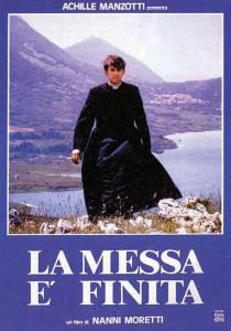 """Affiche du film """"La Messe est finie"""""""