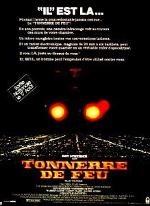 """Affiche du film """"Tonnerre de feu"""""""