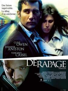 """Affiche du film """"Dérapage"""""""