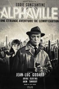 """Affiche du film """"Alphaville"""""""