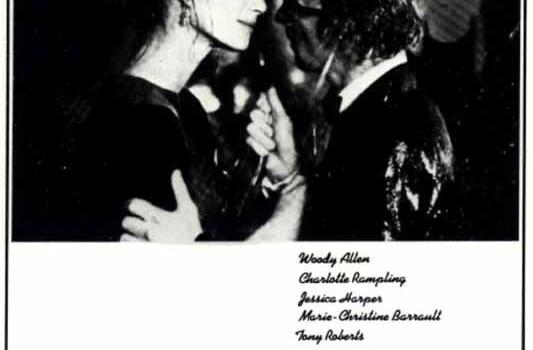 """Affiche du film """"Stardust Memories"""""""