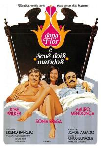 """Affiche du film """"Dona Flor e Seus Dois Maridos"""""""