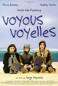 """Affiche du film """"Voyous voyelles"""""""