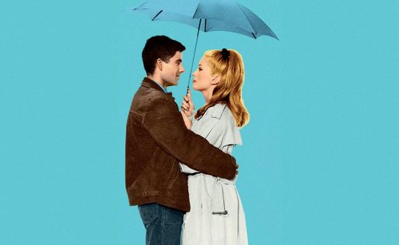 """Affiche du film """"Les parapluies de Cherbourg"""""""