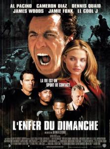 """Affiche du film """"L'enfer du dimanche"""""""