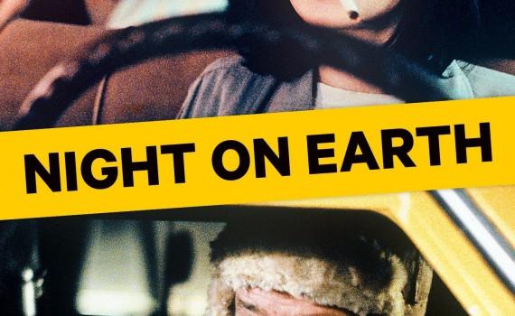 """Affiche du film """"Night on Earth"""""""