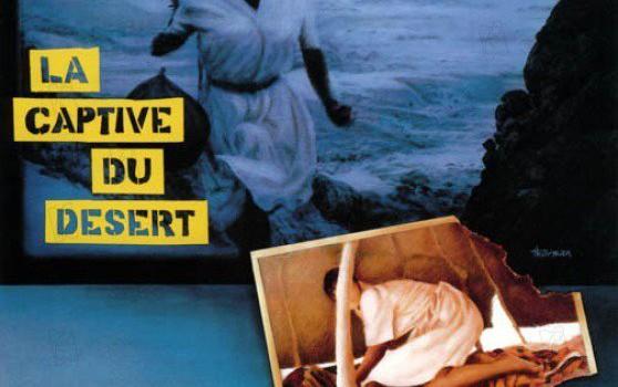 """Affiche du film """"La captive du désert"""""""