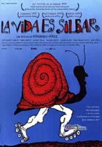 "Affiche du film ""La vida es silbar"""