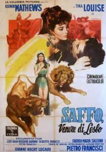 """Affiche du film """"Saffo - Venere di Lesbo"""""""