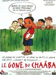 """Affiche du film """"Le Gone du Chaâba"""""""