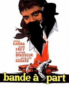 """Affiche du film """"Bande à part"""""""