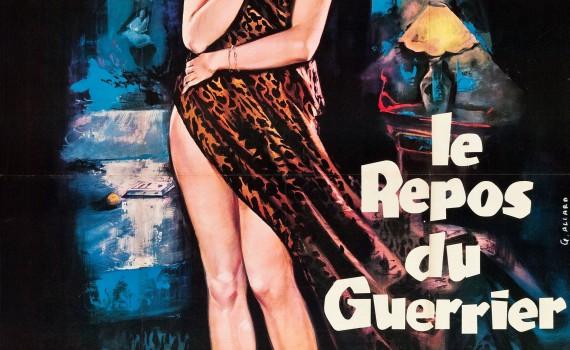 """Affiche du film """"Le Repos du guerrier"""""""