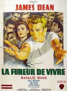 """Affiche du film """"La Fureur de vivre"""""""