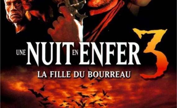 """Affiche du film """"Une nuit en enfer 3 : La Fille du bourreau"""""""